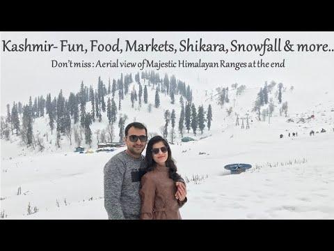 کشمیر دورہ- گلرم، سرینگر، پہلگام