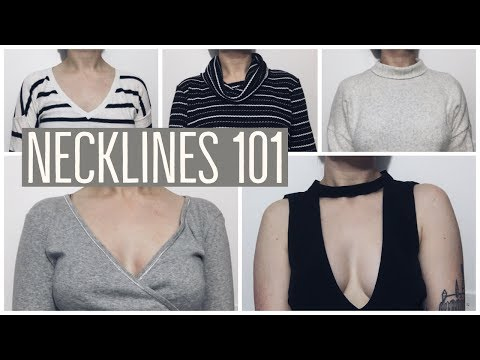 IDENTIFYING DIFFERENT TYPES OF NECKLINES