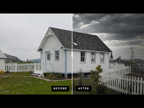 Real Estate Lead Shot Photo Editing with Luminar AI