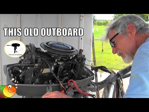 Johnson Outboard Carburetor Removal