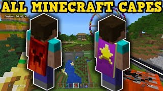 EVERY Minecraft Cape & How You Can Earn Them!