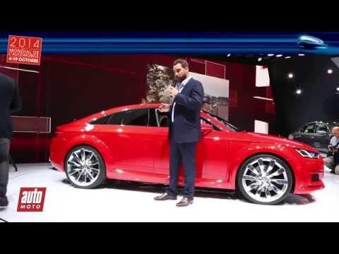Audi TT Sportback Concept - En direct du Mondial de l'Auto avec auto-moto.com