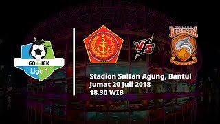 Live Streaming Vidio.com Liga 1 Indonesia, PS Tira vs Borneo FC Pukul 18.30 WIB