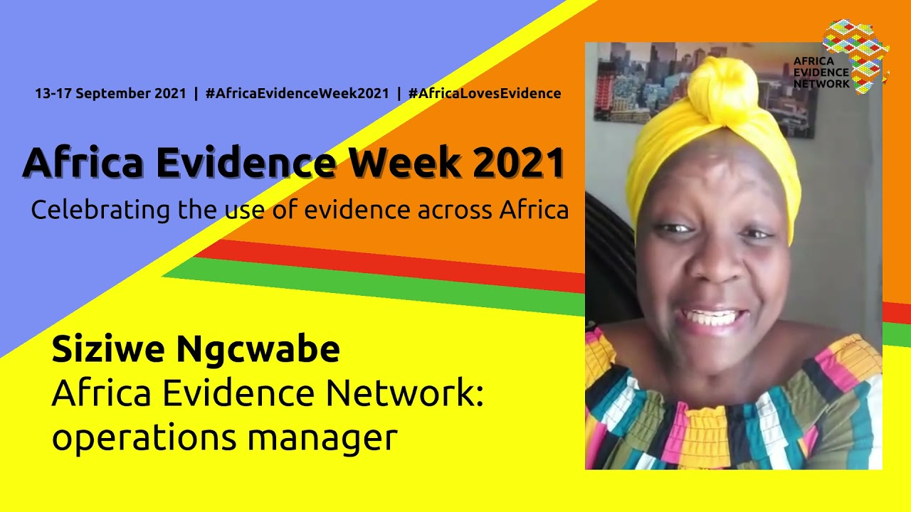 Africa Evidence Week 2021: How is #AfricaEvidenceWeek2021 going?