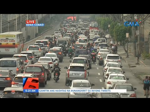 [GMA]  UB: Traffic update as of 6:28 a.m. (August 3, 2020)