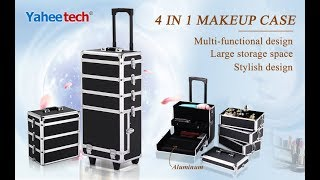 Yaheetech 4in1 professional makeup case review