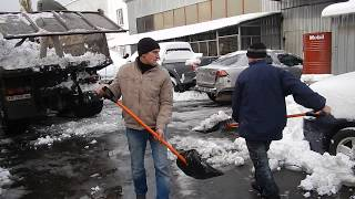 Аренда техники для уборки снега в Киеве 098 159 0 159 - видео 1