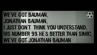 CHANT PERSIB FANS UNTUK JONATHAN BAUMAN!
