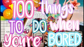 100 Things To Do When You're Bored in Summer! | Fun Things To Do This Summer | Courtney Graben