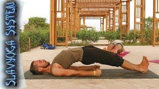 ЙОГА ДЛЯ НАЧИНАЮЩИХ ⭐ Йога для спины и позвоночника ❤️ Простые упражнения для спины