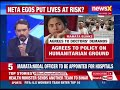 LIVE TV — Bengal doctors call off strike after meeting with Mamata Banerjee - Video
