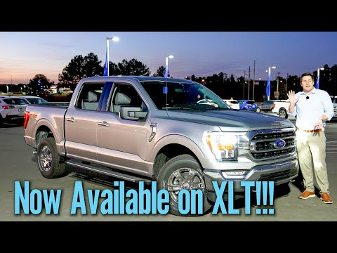 Top 10 New Features On 2021 F150 XLT!