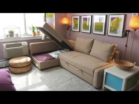 FRIHETEN Sofa Bed – IKEA Home Tour