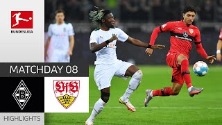 Borussia M'gladbach 1-1 VfB Stuttgart Pekan 8