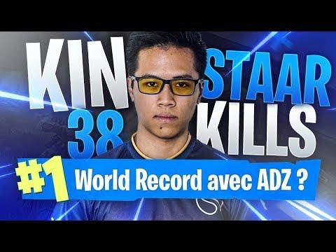 JE RATE LE WORLD RECORD DE TRÈS PEU ! 🥇 38 KILLS GAMEPLAY   FORTNITE BATTLE ROYALE KINSTAAR