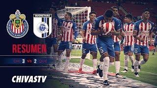 Triunfo Rojiblanco | Resumen | Chivas 3-2 Querétaro | Highlights | J18 LigaMX AP19
