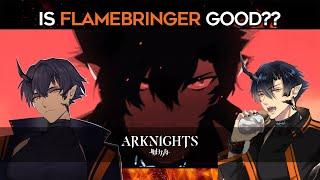 Flamebringer  - (Arknights) - HOW TO USE FLAMEBRINGER | [Arknights]