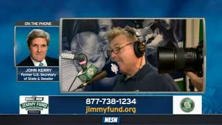 WEEI/NESN Jimmy Fund Radio-Telethon: John Kerry