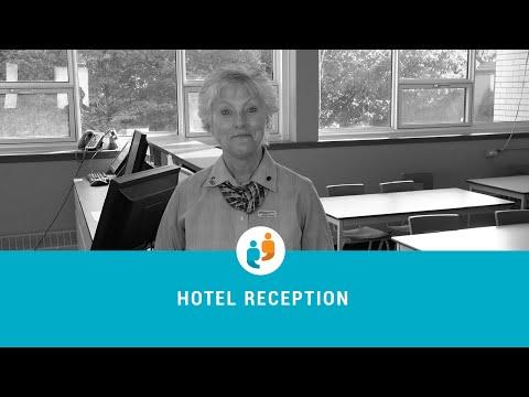 DVS in hotel reception