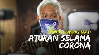 Gubernur Jateng Minta Leasing Taati Aturan selama Corona, Ganjar: Jangan Bikin Warga Tambah Susah