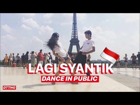 SITI BADRIAH - LAGI SYANTIK DANCE IN PUBLIC By Océane & David | Choreo By Natya Shina