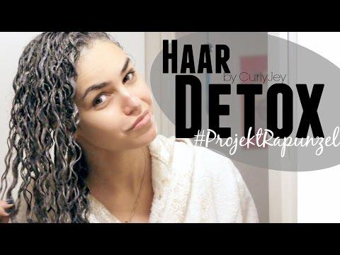 Haar DETOX     Wie sauber ist deine Kopfhaut?     #ProjektRapunzel 2/6🙆     by CurlyJey