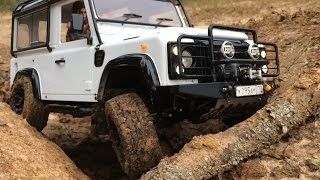 "Defender Diaries: RC4WD Falken WildPeak AT 1.7"" Scale Tires test dry crawling"
