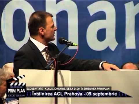 Emisiunea Prim Plan – Klaus Johannis – 10 septembrie 2014