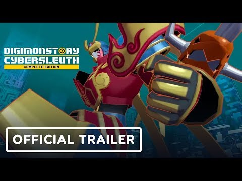 Digimon Story Cyber Sleuth: Complete Edition - Official Launch Trailer
