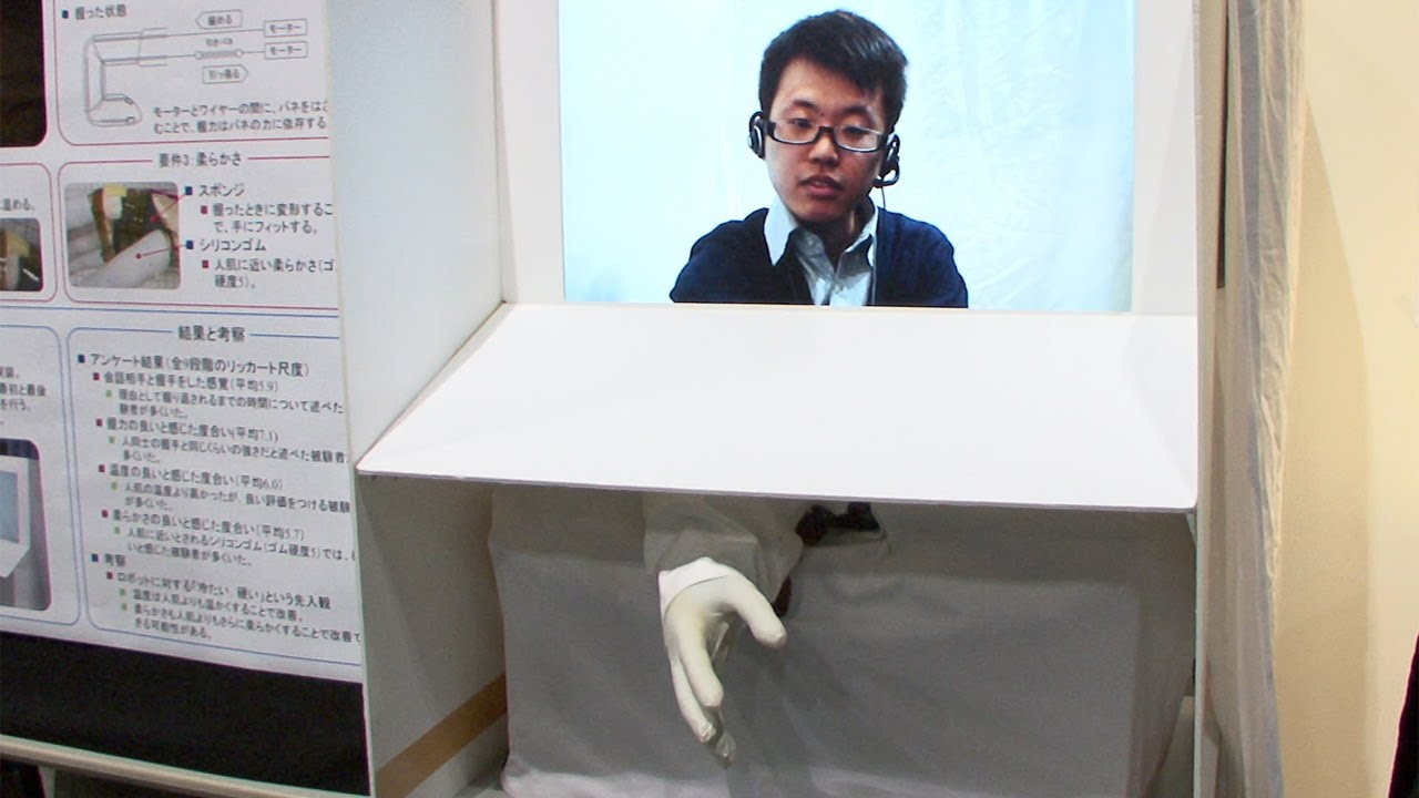 Robotic Hand Will End Up Being Popular For Something Other Than Handshakes
