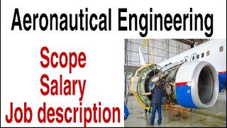 what is aeronautical engineering