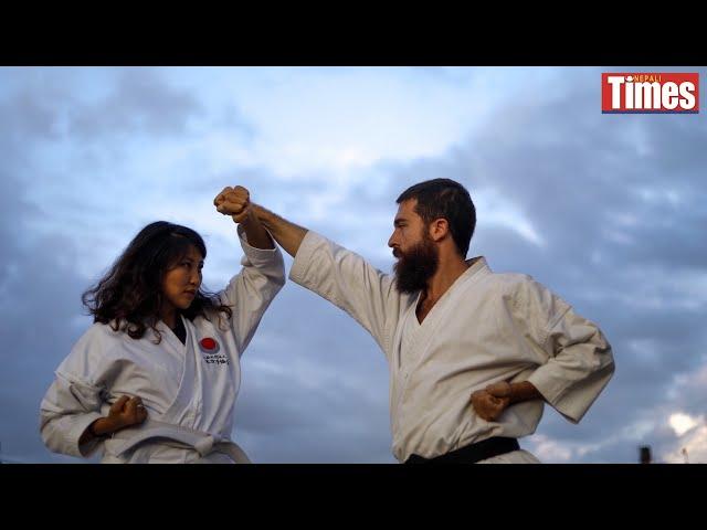 Karate Travellers in Kathmandu