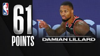 Damian Lillard Matches His Career-High With 61 PTS!