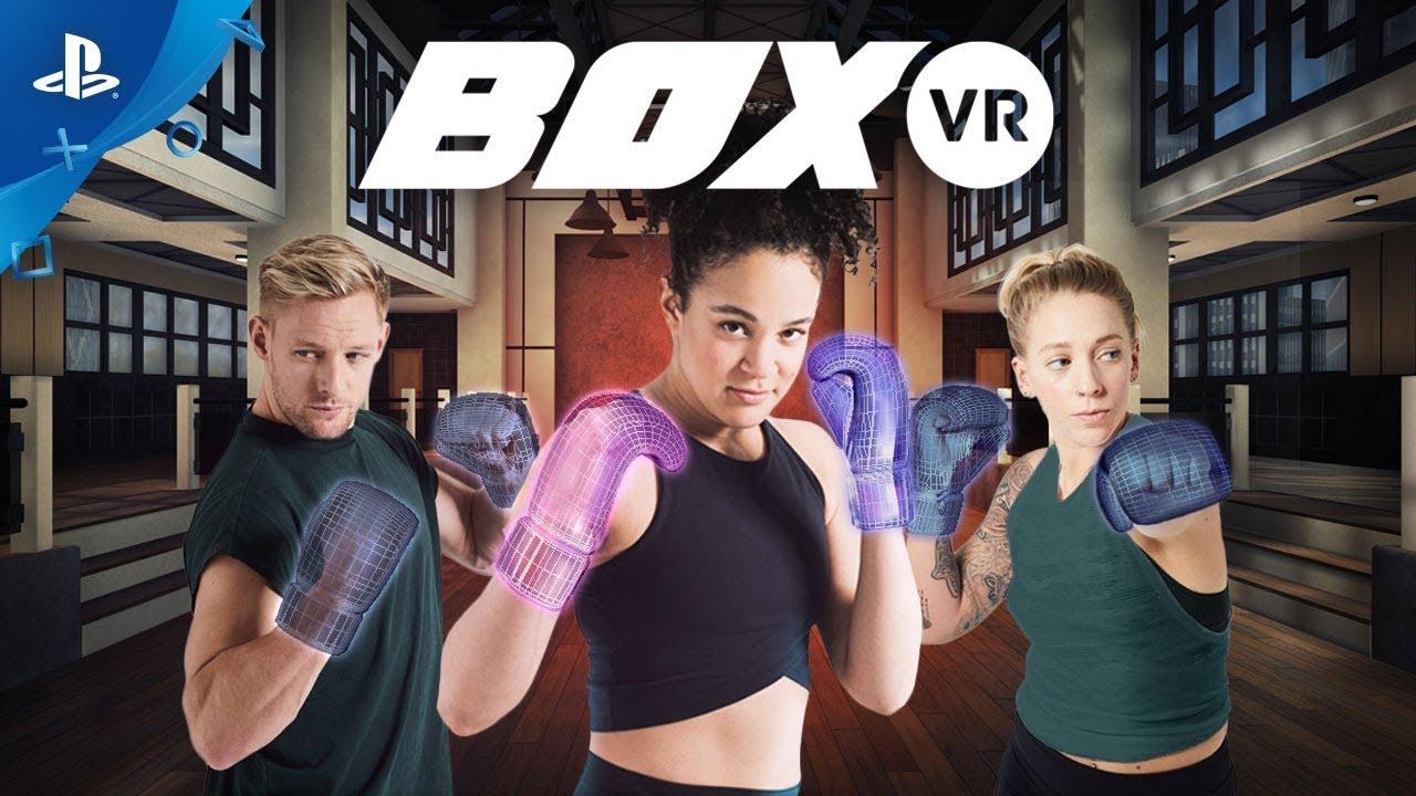 Tutti in gran forma con BoxVR, in arrivo oggi su PS VR