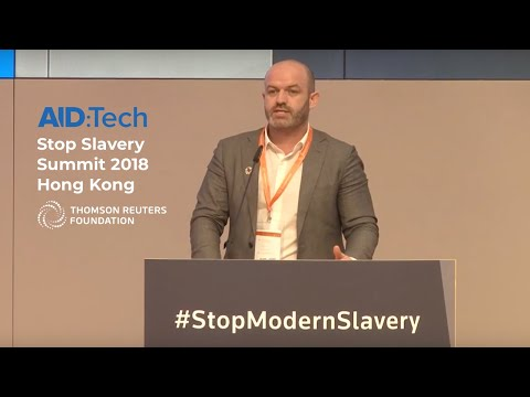 AID:Tech at Thomson Reuters' Stop Slavery Summit 2018