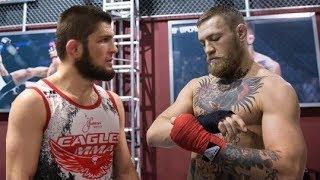 КАК КОНОР МАКГРЕГОР И ХАБИБ НУРМАГОМЕДОВ ГОТОВИЛИСЬ К БОЮ НА UFC 229!