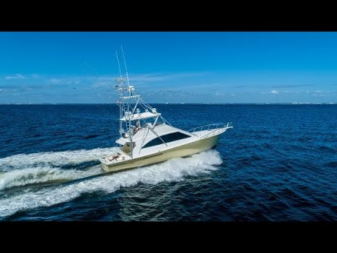 Ocean Yachts 56 Convertible video