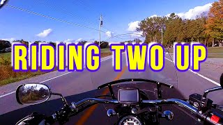 Riding Kawasaki Vulcan 900 Classic Two Up - My Experience And Thoughts