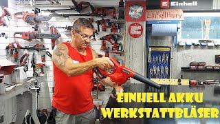 Einhell Akku Werkstattbläser TC-CB18/180 Li unboxing und 1.Test #einhellharry #einhell_ag