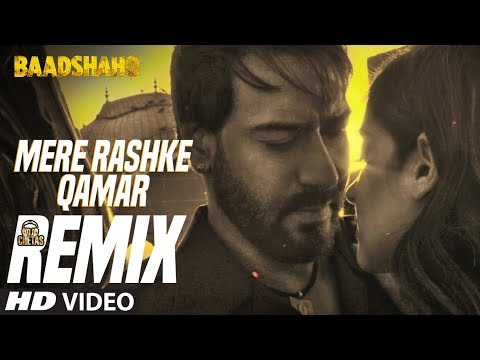 download mere rashke qamar video song