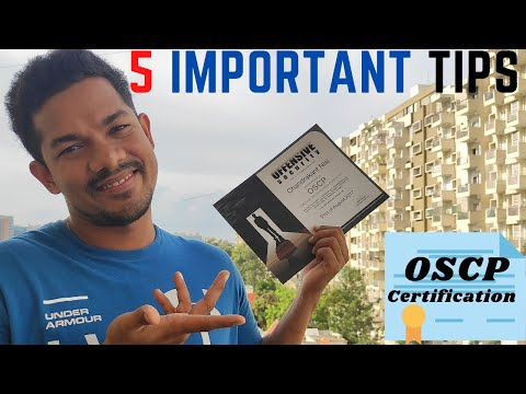 5 Important Tips for OSCP Certification - exam passing tricks ...