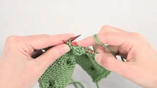 How to Knit a Bobble Stitch (mb)