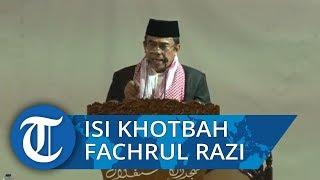 Isi Khotbah Menag Fachrul Razi di Masjid Istiqlal, Ajak Seluruh Umat Beragama untuk Saling Toleransi