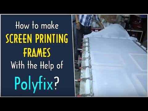 Polyfix High Viscossity Glue for Screen Printing Frames