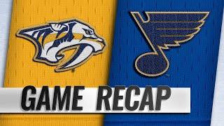 Blues beat Predators for fifth straight win