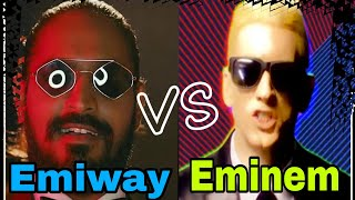 EMIWAY BANTAI v/s EMINEM (RAP GOD) RAP Battle