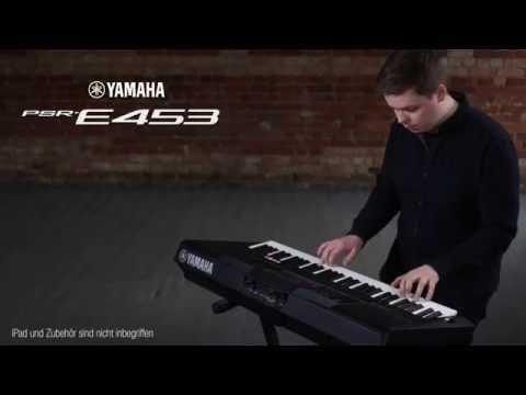 YAMAHA PSR-E453 Klávesy s dynamikou úhozu