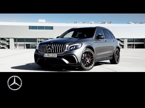 Mercedesbenz Glc Class Coupe Кроссовер класса J - рекламное видео 4