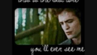 edward & bella ~ pick you up adam lambert