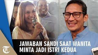VIDEO TIffani Minta Jadi Istri Kedua Sandiaga Uno di Depan Warga Sleman, Apa Jawaban Sandi?